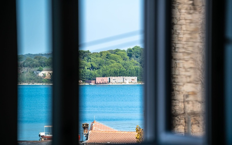 One-bedroom apartment with a sea view in Stoja, Pula