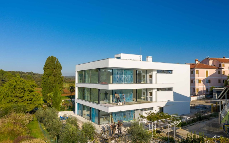 Luxury apartment with sea view and spacious terrace- Rovinj