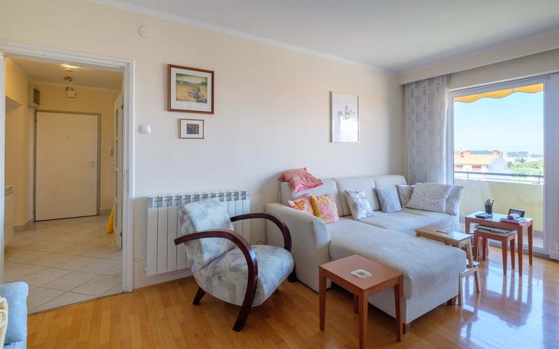 Three bedrooms penthouse with large terace is for sale in Pula, Istria