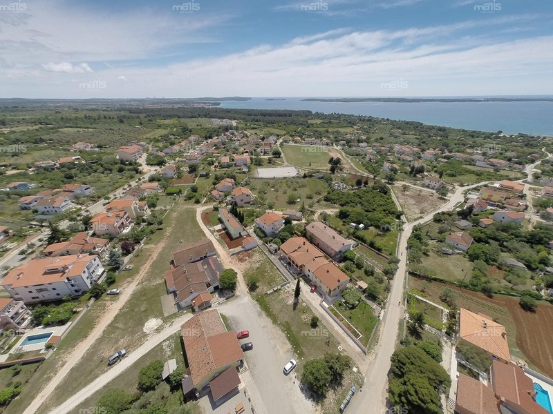 New house for sale near Fažana and 700 m distance from sea in very quiet area