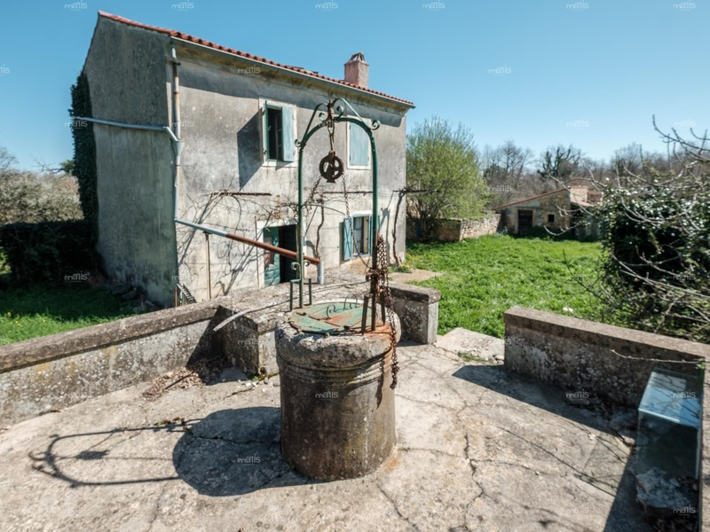 Village estate with stone houses surrounded by centuries-old forests on a complex of construction and agricultural land of 13.000 m²